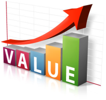 Value-based text