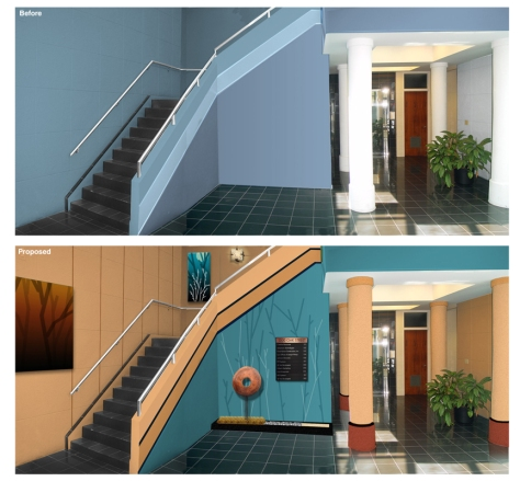 Bellair lobby-Before&After