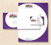 The Prouty Project: They are a 360 consulting firm with a branding theme of using circles to communicate their 360 degree approach.
