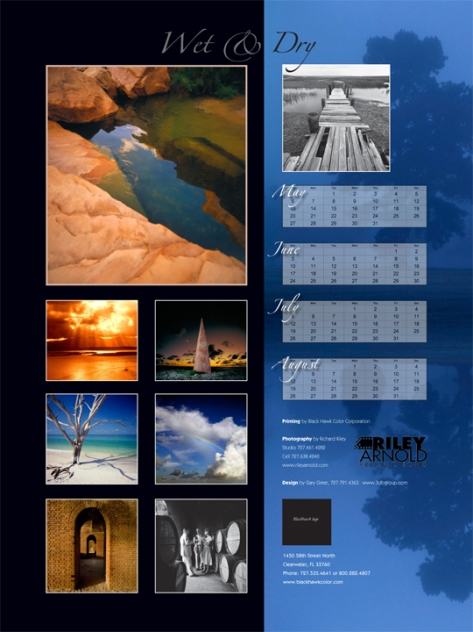Calendar: Audience is creative professionals who buy print materials.