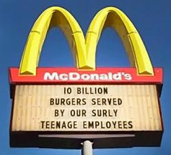 numbers-McDonalds