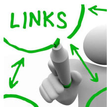 How to link text and pictures to your website